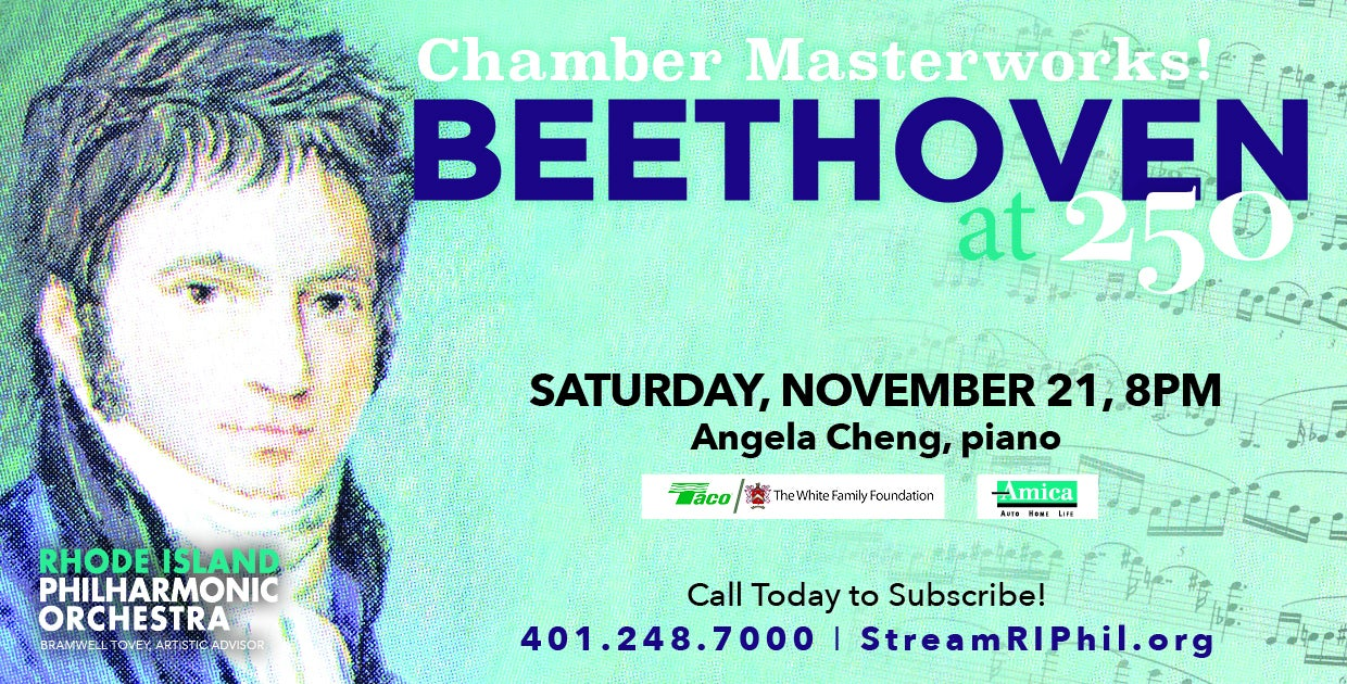 Pianist Angela Cheng plays Beethoven's Chamber Masterworks!