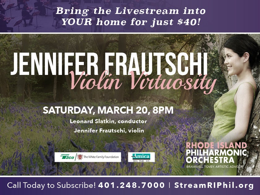 More Info for Jennifer Frautschi - Violin Virtuosity