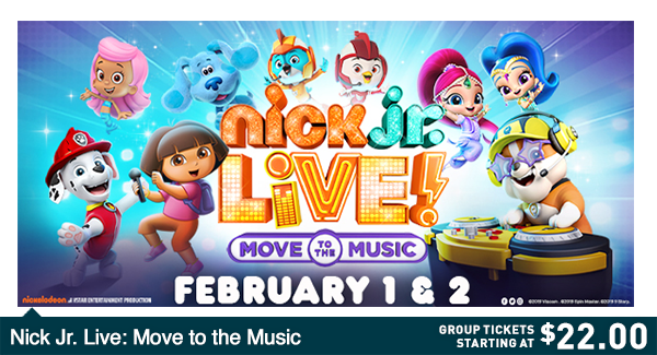 Nick Jr  Live | Veterans Memorial Auditorium