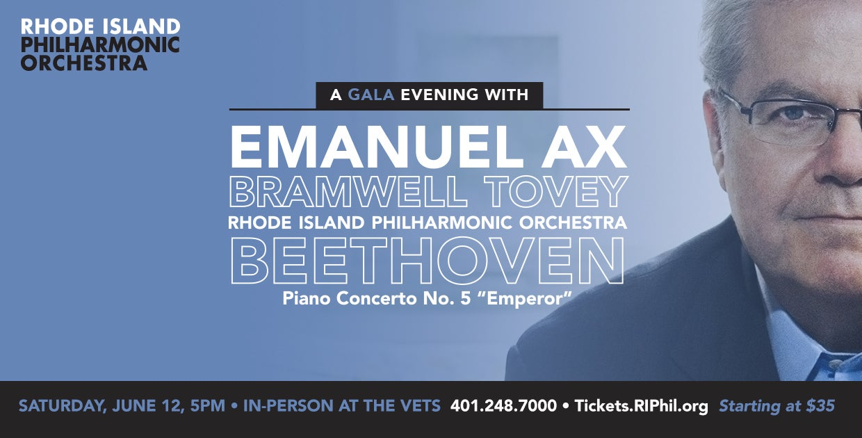 Annual Gala Evening with Bramwell Tovey and Emanuel Ax