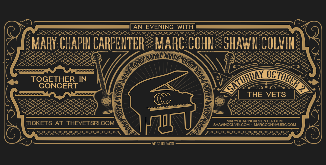 Mary Chapin Carpenter, Marc Cohn, and Shawn Colvin: Together in Concert