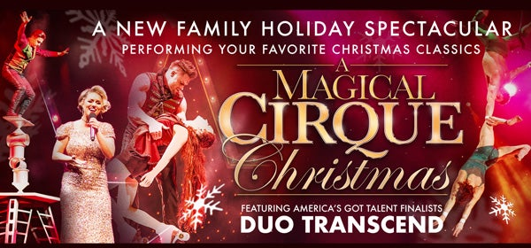 Cirque Christmas.A Magical Cirque Christmas Veterans Memorial Auditorium