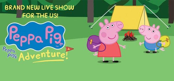 Peppa Pig Live Peppa S Pig S Adventure Veterans Memorial Auditorium